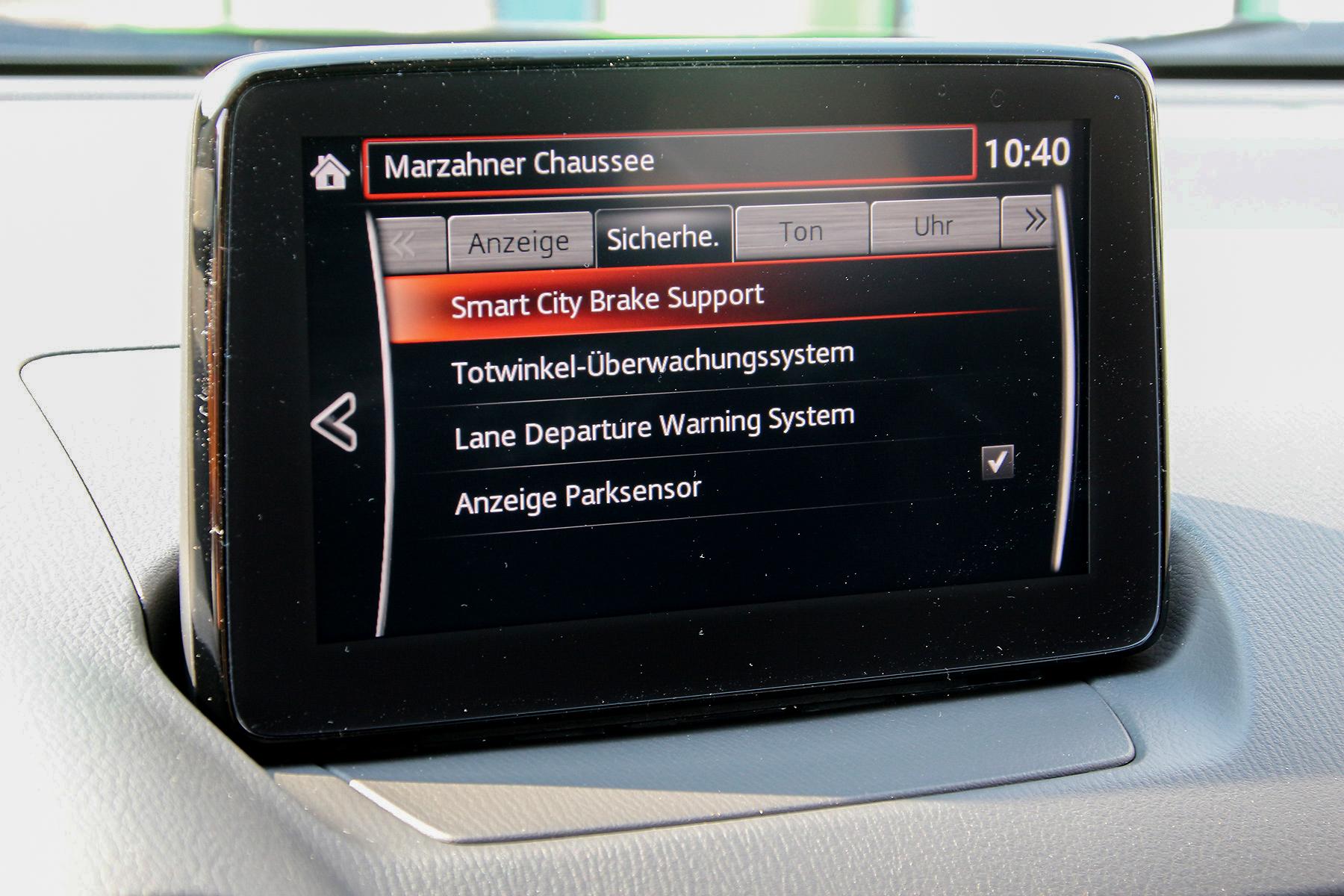 mazda cx-3 2.0 skyactiv-g exclusive-line autom.navi | autos kauft